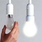 Nicht entmutigen lassen: Der Erfinder Thomas Edison benötigte 9000 Versuche, bis die Glühbirne – seine wichtigste Erfindung – brannte. Bild: Osram