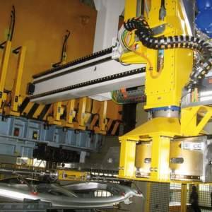 Die neue Fertigungslinie von Chery Automobile wurde mit dem Feederplus, einem Linearroboter-System, automatisiert. Bild: Strothmann