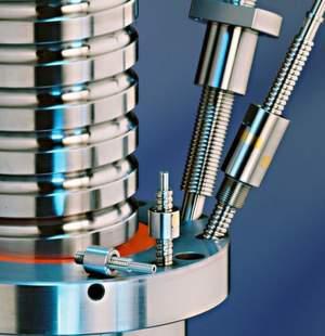 Kugelgewindetriebe von Kammerer in verschiedenen Größen und Ausführungen. Bild: Kammerer Gewindetechnik