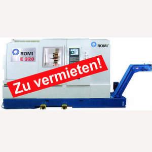 Hommel Maschinentechnik vermietet zum Beispiel diese Romi-CNC-Drehmaschine ab 3800 Euro pro Monat (zuzüglich Mehrwertsteuer).