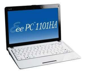 Der Eee PC 1101HA ist das erste Asus-Netbook mit 11,6-Zoll-Diagonale.