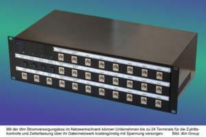 Stromversorgung über Datenkabel von DtM