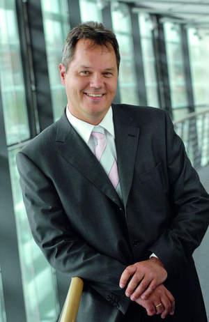 Konrad Meier, Vorstand der TDS AG und Leiter des Geschäftsbereichs IT-Outsourcing