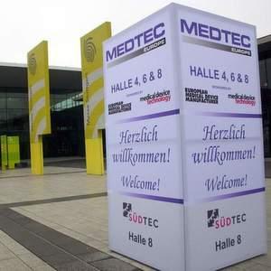 Die Veranstalter der Medtec 2010 geben sich derzeit sehr optimistisch. Bild: Canon Communications