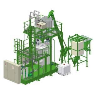 Der MP-Reaktor lässt sich je nach Bedarf einfach oder mehrfach in eine Produktionsanlage integrieren.