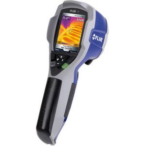 Die Wärmebildkamera mit 120 × 120 Pixel und einer Genauigkeit von ±2% soll sich insbesondere für das Erkennen von Problemen bei Heiz-, Belüftungs- und Klimasystemen, Problemen an der Elektrik und Wärmelecks eignen. Bild: Flir Systems
