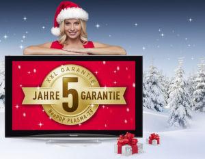 Ab sofort gibt Panasonic auf bestimmte TV-Modelle fünf Jahre Garantie.