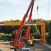Zweiträger-Portalkran mit 32 t Tragkraft an Dirostahl ausgeliefert