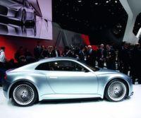 Das Detroit-Showcar e-tron — ein Kompaktsportler mit Elektroantrieb