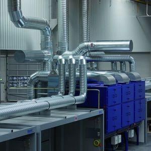 Die Effizienz der Schweißrauchgasabsauganlagen wird durch die Unterstützung mit regenerativen Techniken gesteigert. Bild: Raziol
