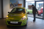 Am Eröffnungswochenende wurde ein neuer Renault Clio verlost.