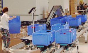 Großtransportbänder kommen als einzelne Zu- und Wegführbänder in einzelnen Fertigungsanlagen oder zur Verkettung ganzer Transportsysteme zum Einsatz