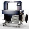 Umreifungsmaschine für Schmalbänder schnell in der Höhe verstellbar