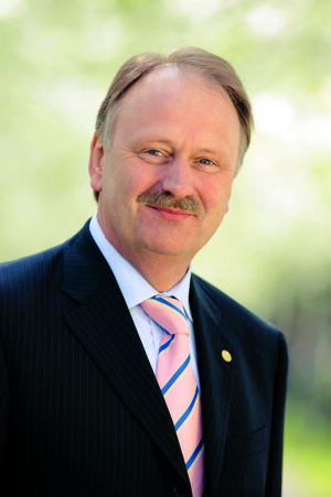 Ernst Raue, CeBIT-Vorstand bei der Deutschen Messe AG
