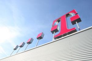 """Ein einfaches """"T"""" ist das neue Markenzeichen der fusionierten Festnetz- und Mobilfunk-Sparte."""