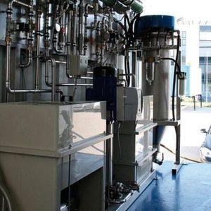 Die Wasseraufbereitung erfolgt durch die erzeugten Flotationsgase bei der Elektrolyse. Bild: Aqua Vivendi