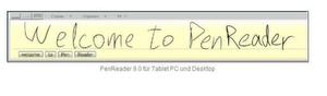 Paragons Pen Reader 9.0 erkennt Handschriften ohne Kalibrierung.