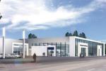 In der Richard-Lehmann-Strasse in Leipzig errichtete Volkswagen Automobile Leipzig, eine Tochtergesellschaft der Volkswagen Retail, 2009 ein neues VW-Zentrum.