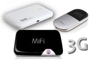 Mobile UMTS WLAN Router bringen Notebook, Smartphone und iPad unterwegs sicher ins Internet. Security-Insider.de testet Novatel Wireless MiFi 2352, D-Link MyPocket 3G HSDPA Router DIR-457 und Trekstor Portable WLAN Hotspot.
