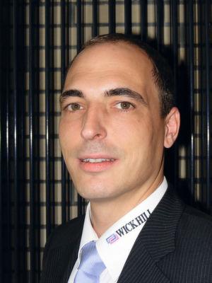 Helge Scherff, Director Sales von Wick Hill