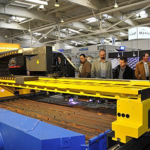 Die gesamte Prozesskette für die Blechbearbeitung ist auf der Euroblech 2010 zu sehen. Bild: Euroblech