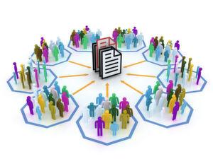 Am Sharepoint treffen Dokumente und Listen auf User.