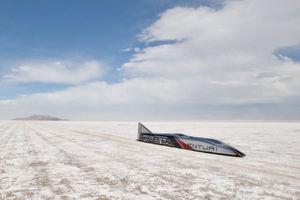 """Rekordfahrzeug """"Buckeye Bullet"""" mit 800-PS-Elektroantrieb erreicht 515 km/h"""
