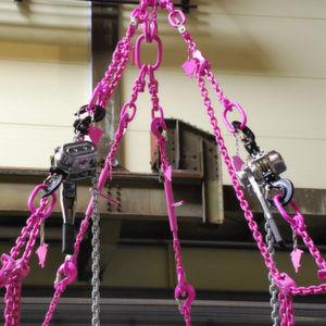 """Der """"Evers-Kettenbypass"""" ist eine flexible, wirtschaftliche und gefahrlose Möglichkeit, Anschlagmittel wie Seile, Ketten oder Hebebänder einfach und sicher in ihrer Nutzlänge zu verändern. Bild: Evers"""
