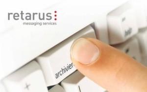 Retarus Enterprise Message Retention archiviert auch große E-Mail Volumina sicher und sorgt damit für Business Continuity und Compliance.