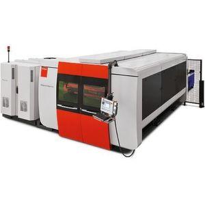 Laseranlage By-Sprint Fiber3015 mit 2kW-LaserquelleFiber2000 für einen hohen Teileausstoß. Bild: Bystronic