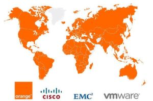 Orange Business Services, Cisco, EMC und VMware gründen Flexible 4 Business.