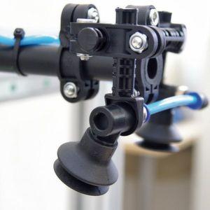 Bild 2: Die Herga-Leichtbausauger bestehen aus Kunststoff und lassen sich leicht montieren.