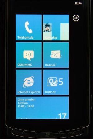 Die Benutzerführung bei Windows Phone 7 wird von den Hubs dominiert.