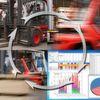 Nutzungsanalyse-System für Flurförderzeuge