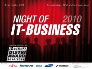 Das erwartet Sie bei der Night of IT-BUSINESS 2010