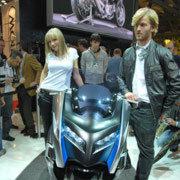 BMW zeigte seine spektakuläre Großroller-Studie Concept C.