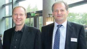 Jörg Sinnig (li.), Vorstandsvorsitzender, und Arno Weichbrodt, Vorstand Software-Entwicklung und Technologie der SIV AG