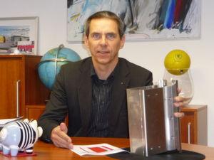 """Michael Koch, Geschäftsführer: """"Speicherkapazität von 1,5 kJ reicht für viele Einsätze aus."""" Bild: Koch"""