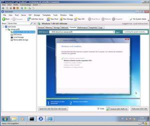 Der XenServer kommt auch mit Windows-Gästen anstandslos zurecht.