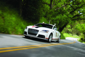 Autonomer Audi rast den Pikes Peak hinauf