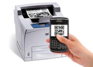 """In der ersten Version von """".Print Personal Printing Essentials"""", die heute auf den Markt kommt, ist eine Authentifizierung per Smartphone nur mit Blackberry-Devices möglich. Bild ThinPrint"""