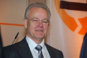 """Fraunhofer-Präsident Prof. Bullinger: """"Wir haben nach wie vor ein Spitzenniveau in Deutschland. Aber wir müssen aufpassen, dass uns die Dynamik nicht verloren geht."""" (Bild: Maienschein)"""
