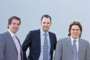 Erfolgreiches Team (v.l.): Oliver Kau, Björn Siewert und Holger Kau