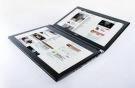 Das Acer-Tablet Iconia fällt dank seiner zwei Displays auf.