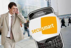 Secusmart bringt die sichere Telefonie- und SMS-Lösung SecuVOICE jetzt auch für Blackberry und außerdem sicheren E-Mail-Verkehr mit SecuEMAIL.