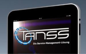 Tanss 5.0, eine Anwendung zum umfassenden Management von Services, ist mit dem iPhone und bald auch auf dem iPad nutzbar.
