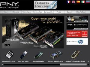 Mit Business Privilege möchte PNY seine Partner belohnen.