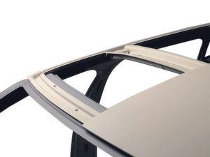 Federleichtes Autodach aus Magnesium. Bild: Thyssen-Krupp