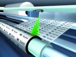 Rollendurchmesser von Folien erfassen mit messendem Ultraschallsensor