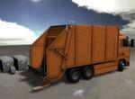 Kontrolle des Neigungswinkels der Ladeeinrichtung von Müllwagen mit magnetischen Winkelsensoren